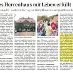 Naumburger Tageblatt Sept. 2013