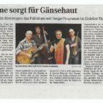 Mitteldt. Zeitung - Konzert Eisleben