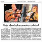 Sächsische Zeitung April 2017